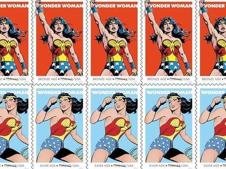 Wonder Woman stamps honor 75 years of Amazon glory | Comic Book Trends | Scoop.it