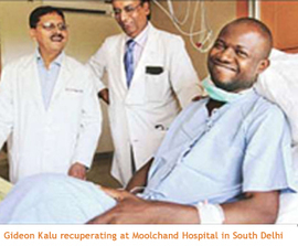 India's first bloodless kidney transplant successfully done at Moolchand | Hospitals Health Care | Scoop.it