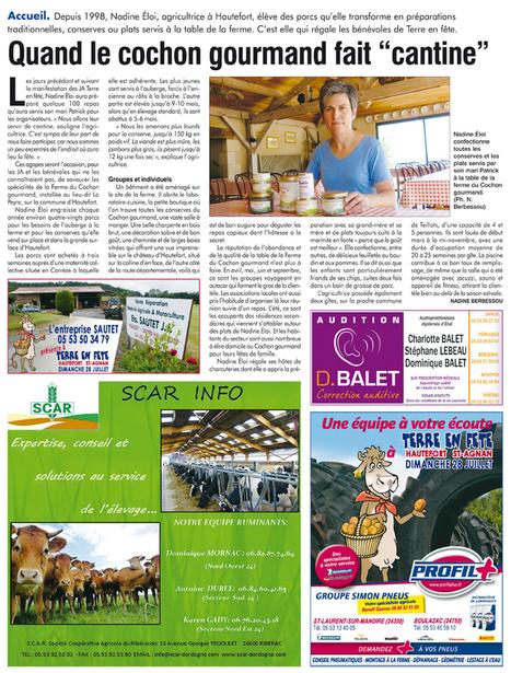 Terre en fête, le grand rendez-vous agricole de l'année | Agriculture en Dordogne | Scoop.it