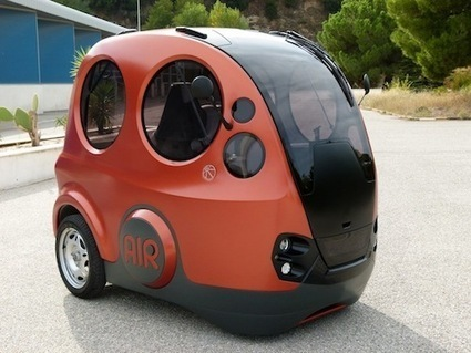 A Car That Runs On Air: The Future Is Here? | Only Good News | Scoop.it
