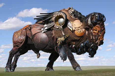 John Lopez-Iron Scuptures- | digital art and media | Scoop.it
