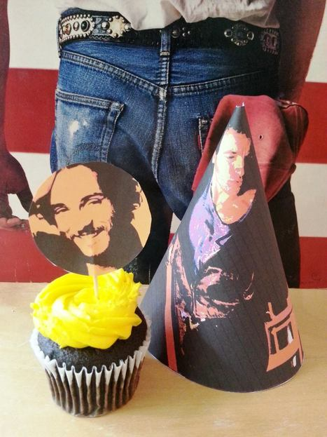 Top 20 ways to celebrate Bruce Springsteen's birthday (with party printables !) - Blogness On the Edge Of Town | Bruce Springsteen | Scoop.it