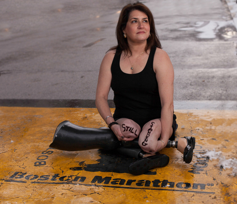 Survivors of the Boston Marathon bombing send messages of hope in heart-wrenching photo series | Politically Incorrect | Scoop.it