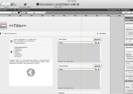 Adaptive Layouts for FileMaker | All things Filemaker  Go | Scoop.it