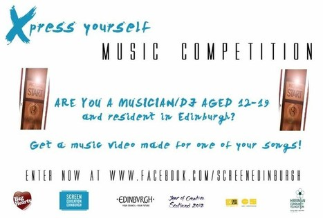 Xpress Yourself – Call to Young Musicians in Edinburgh — Screen Education Edinburgh | Culture Scotland | Scoop.it