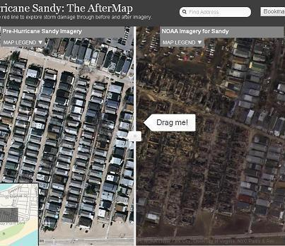 Hurricane Sandy Before and After Map & Satellite Images | Esri Disaster Map | ArcGIS Geography | Scoop.it