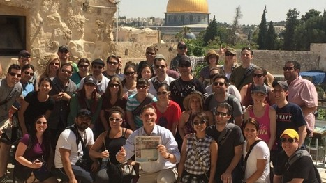 Young couples, many intermarried, get Birthright-style 'honeymoons' in Israel | Jewish Education Around the World | Scoop.it