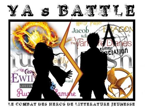 YA's Battle : le combat des héros de littérature jeunesse – 1ere Battle Garçons | LesLecturesDeLiyah.com - Blog de Litterature Jeunesse et Culture. Partagez vos critiques litteraires | Fatioua Veille Documentaire | Scoop.it