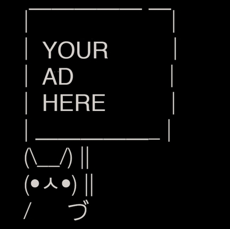 How 9 Brands Used Twitter's Sign Bunny Meme to Make Little Billboards - Adweek | ASCII Art | Scoop.it