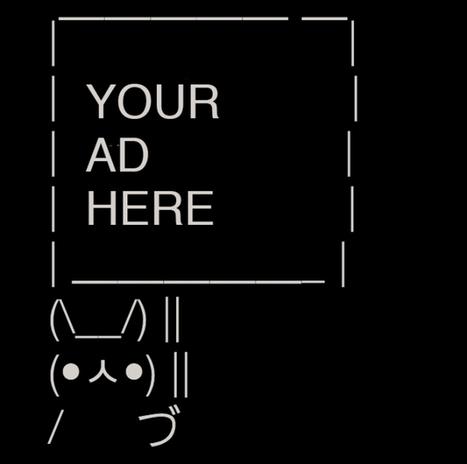 How 9 Brands Used Twitter's Sign Bunny Meme to Make Little Billboards | ASCII Art | Scoop.it
