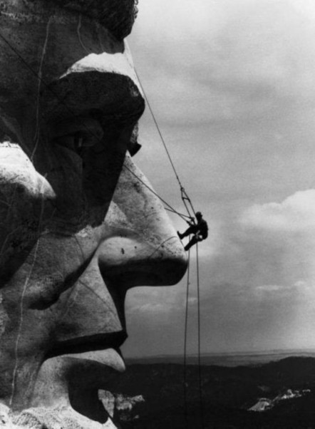 Climbing Lincoln's Nose, 1936 | Arte y Fotografía | Scoop.it