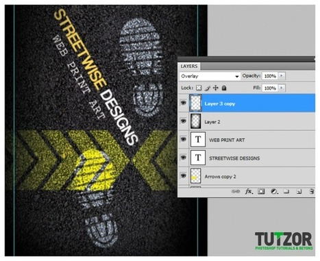 How To Design a Textured Business Card in Photoshop | Tutzor | Software | Scoop.it