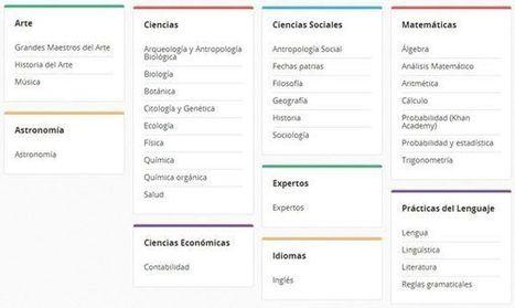 Más de 1.500 vídeos educativos gratuitos en español sobre distintas disciplinas | PLE | Scoop.it