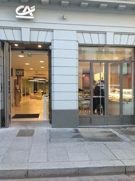 Une boulangerie dans... une agence bancaire | notre métier le commerce ! | Scoop.it