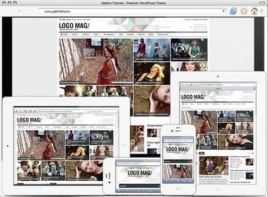 Gabfire Patterns WordPress Magazine Theme Review | aaaa | Scoop.it