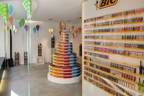 BIC fête ses 40 bougies avec un popup store dédié à ses briquets | streetmarketing | Scoop.it