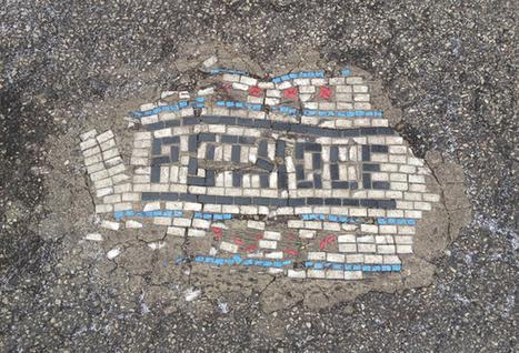 Street Artist Literally Makes Streets Art | The Creators Project | Detroit Rises | Scoop.it
