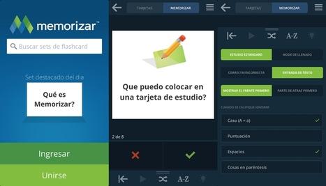 Memorizar.com | Crea tarjetas de aprendizaje imprimibles y colaborativas para estudiar | herramientas educativas en la web | Scoop.it