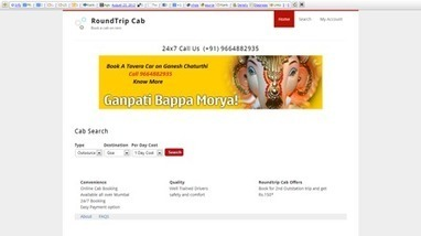 Round Trip Cab | CrunchBase Profile | Round Trip Cab | Scoop.it