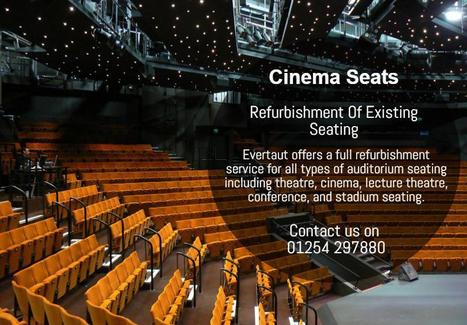 Refurbishment Of Existing Seating | Evertaut Limited | Scoop.it