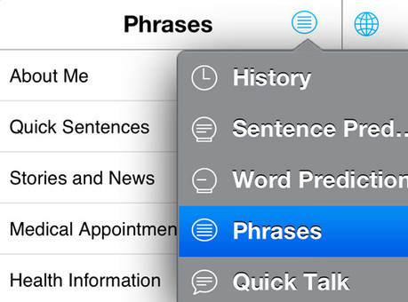 AssistiveWare - Proloquo4Text | Communication App for those unable to speak | Communication Partners | Scoop.it
