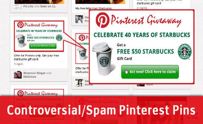 10 Types Of Controversial Pinterest Pins to Avoid | Social Media Primer | Scoop.it
