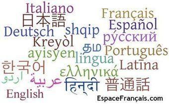 Langues du monde - EspaceFrançais.com | FLE en ligne | Scoop.it