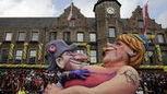 Carnaval de Cologne :Sarkozy en Napoléon dans les bras de Merkel (Tribune de Genève) | LYFtv - Lyon | Scoop.it