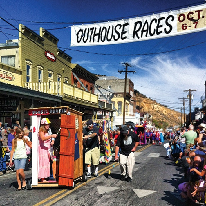 The Annual World Championship Outhouse Races in Virginia City, Nevada | WOE | Kitsch | Scoop.it