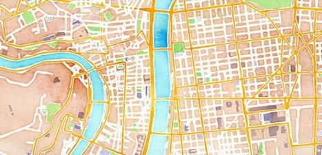 La cartographie en aquarelle | E-apprentissage | Scoop.it