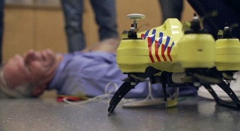 This Ambulance Drone Can Fly Into Trouble With FirstAid | RadioComms | Scoop.it