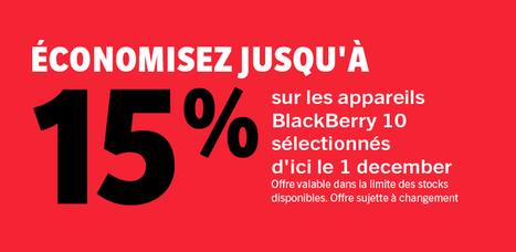 ShopBlackBerry : 15 % de réduction sur les smartphones ! | Addicts à Blackberry 10 | Scoop.it
