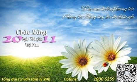 Chúc mừng ngày nhà giáo Việt Nam | Tư vấn tâm lý | Scoop.it