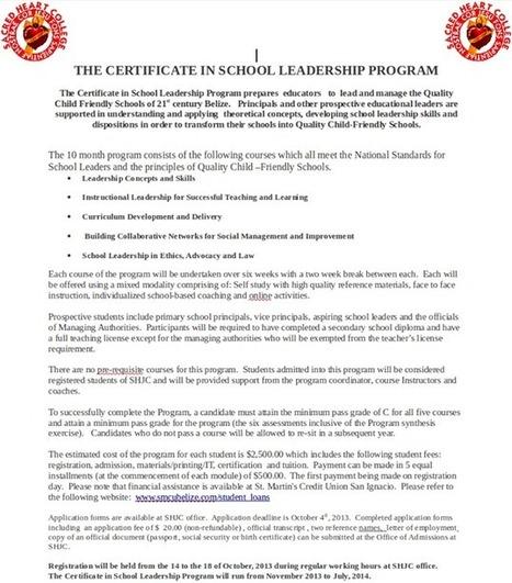 SHJC's School Leadership Program | SHJC Heart Matters | Scoop.it