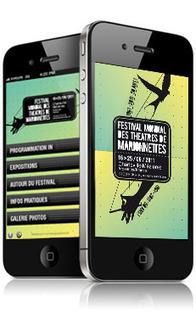 Festival Mondial des Théâtres de Marionnettes (Applications Iphone et Android) [ Agence web Images Créations Nantes ] | Culture et Web | Scoop.it