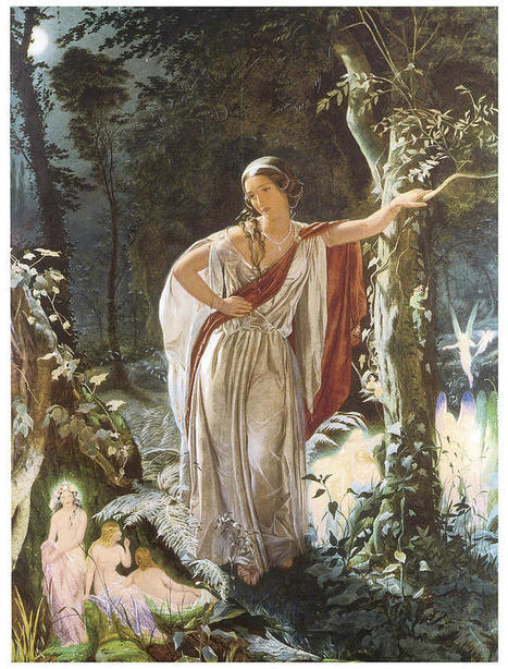 Hermia and the Faries | Gelsomina's A MidSummer Night's Dream | Scoop.it