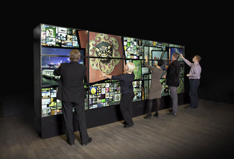 MultiTaction turns walls into giant touch screens | Teaching in the XXI century | Scoop.it