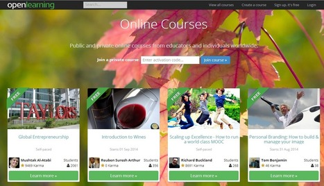 5 Free & Low Cost Online learning Sites You'll love! | Cloud-based Learning | Scoop.it