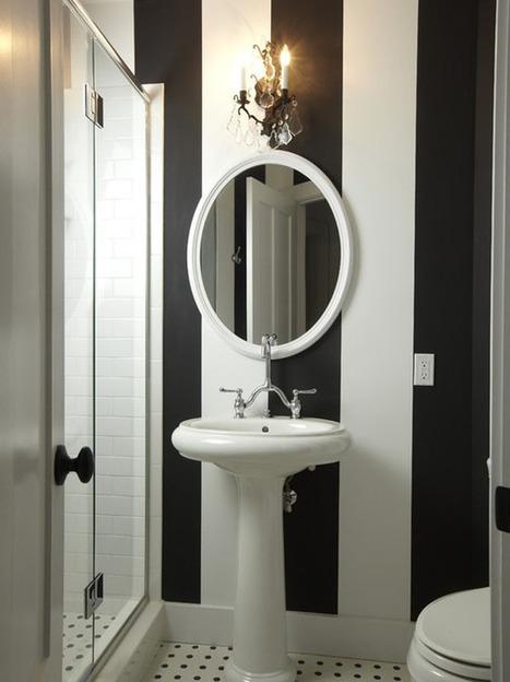 Bath Design | Monochrome | Modern Decor | Apartment Decorating | Scoop.it