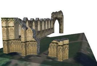 St Mary's Abbey by G3FX - 3D Warehouse | 3D Model | Scoop.it