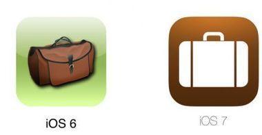 Design iOS : les icones Apple et autres applis avant et après iOS 7 en images   Brèves de scoop   Scoop.it