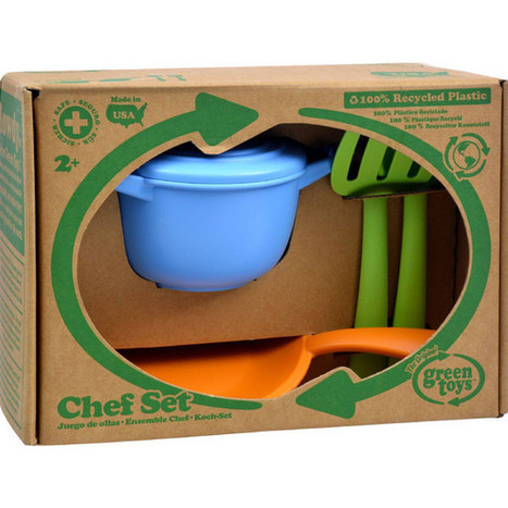 Green Toys Chef Set - 5 Piece Set Eco-Friendly toy | homeschooling | Scoop.it