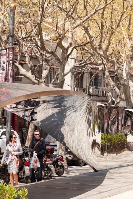 "UNStudio's ""kaleidoscopic catwalk"" installation from the RIBA Shanghai Windows Project 2014 | Architecture, design & algorithms | Scoop.it"
