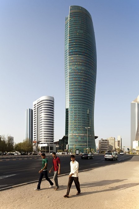 [Kuwait City, Kuwait] Kipco Tower / SSH International | The Architecture of the City | Scoop.it