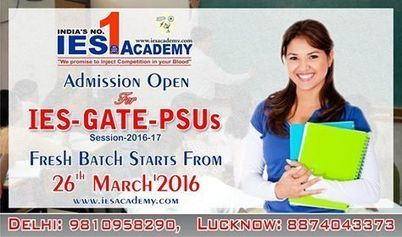 Fresh Batches are starting from 26th March at IES Academy | IES Coaching in DELHI | Scoop.it