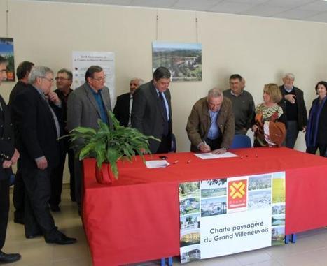 Villeneuve. La charte paysagère signée par les maires - LaDépêche.fr | CDI RAISMES - MA | Scoop.it