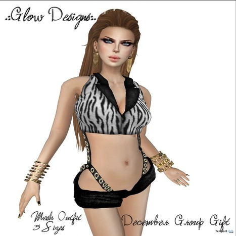 Rock Star Outfit December 2013 Group Gift by Glow Designs | Teleport Hub - Second Life Freebies | Second Life Freebies | Scoop.it
