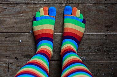 13 Creative Socks | Hi5ing | men's fashion | Scoop.it