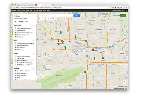 Google My Maps Lets You Create and Save Custom Maps | Technology | Scoop.it