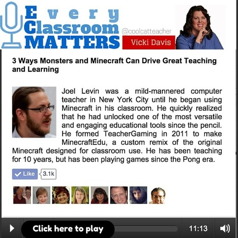 3 Ways Monsters and Minecraft Can Drive Great Teaching and Learning @coolcatteacher | Continuing Professional Development - CCMS | Scoop.it